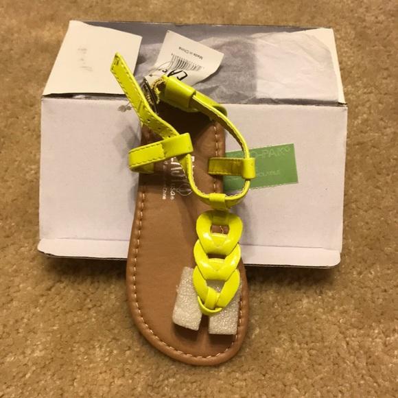 fd68ff33b9a3 NIB Toddler Girls Sandals sz 7
